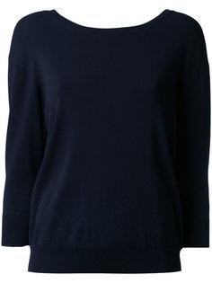 Soubari 2WAY knit top Le Ciel Bleu