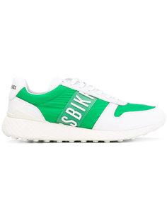 panelled sneakers Bikkembergs