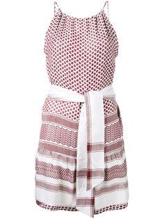 Keffiyeh slip dress Cecilie Copenhagen