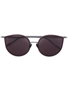 округлые солнцезащитные очки Courrèges