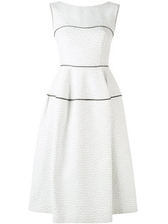 textured panel dress Talbot Runhof