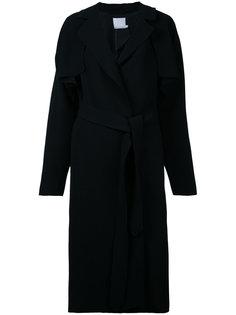 draped coat Christopher Esber