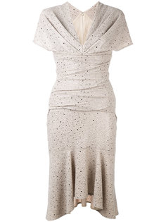 sparkly flutter dress Talbot Runhof
