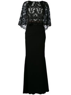 embroidered maxi dress Talbot Runhof