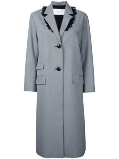 gingham Chester coat Le Ciel Bleu