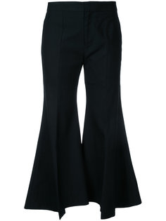 wide-leg flared trousers Irene