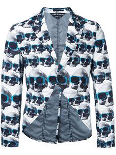 пиджак с принтом черепов Comme Des Garçons Vintage