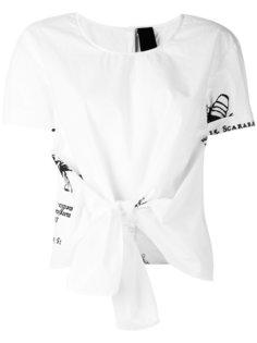 Black label T-shirt Rundholz Black Label