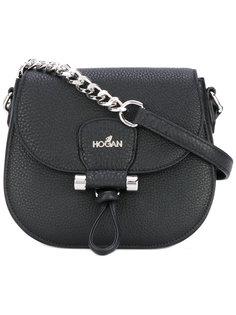 сумка через плечо с цепочной деталью Hogan