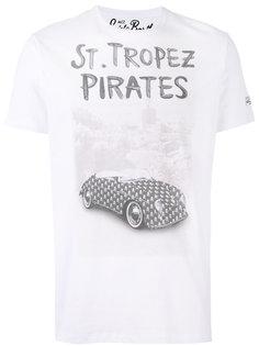 футболка с принтом St. Tropez Mc2 Saint Barth