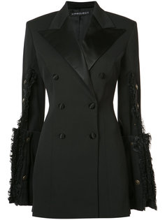 extended sleeve jacket dress Y / Project