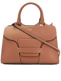 сумка-тоут с логотипом Giorgio Armani