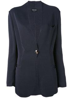 scalloped blazer Giorgio Armani Vintage