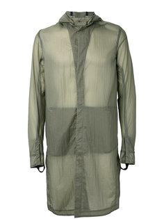 прозрачное пальто с капюшоном 11 By Boris Bidjan Saberi