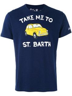 футболка с принтом St. Barth Mc2 Saint Barth