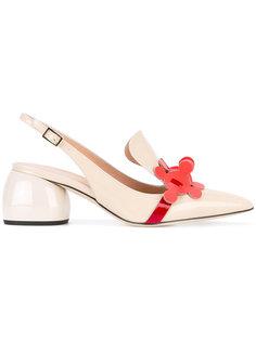 туфли с ремешком на пятке Anya Hindmarch
