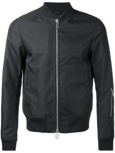куртка-бомбер  с логотипом Emporio Armani
