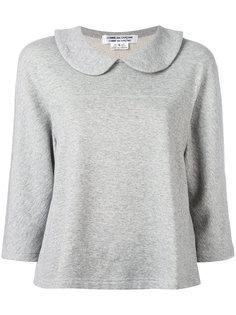 wide-collar sweatshirt Comme Des Garçons Comme Des Garçons