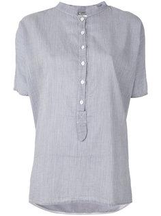 рубашка с воротником-мандарин Kristensen Du Nord