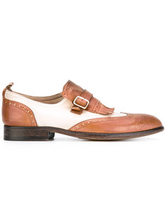 buckled brogues Sartori Gold