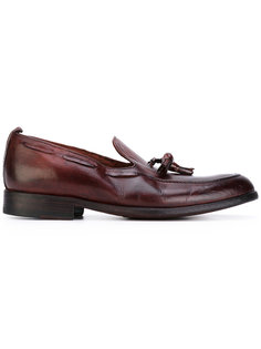 tassel detailed loafers Sartori Gold