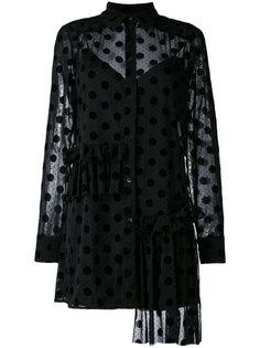 Decon ruffle tunic dress McQ Alexander McQueen