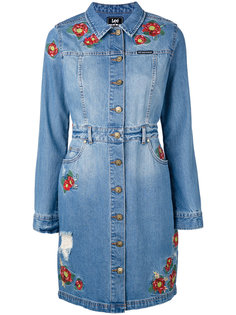 embroidered shirt dress  House Of Holland