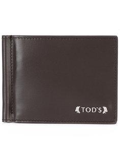 визитница с зажимом для денег Tods Tod`S
