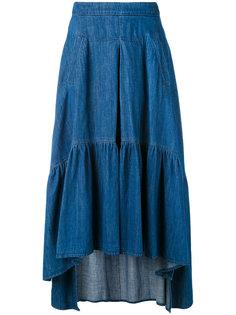 асимметричная юбка макси Twin-Set