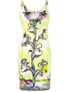 платье с цветочным принтом Versace Collection