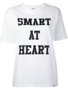 футболка с принтом-надписью Carhartt