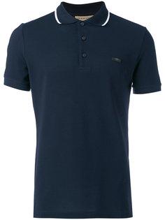рубашка-поло с контрастной окантовкой Burberry