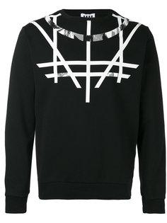 printed sweatshirt  Les Hommes Urban