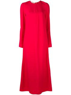 длинное платье шифт Marni