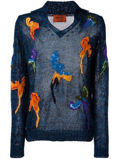 embroidered detail sweater Missoni