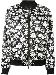 куртка-бомбер с цветочным принтом Golden Goose Deluxe Brand