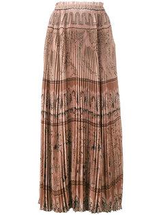 юбка с абстрактным принтом Valentino
