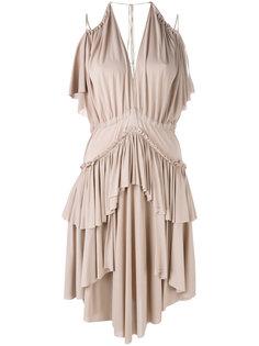 платье с оборками Philosophy Di Lorenzo Serafini