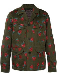 куртка с вышитыми клубниками Paul Smith