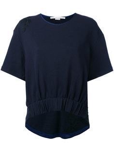 футболка с вышивкой Stella McCartney