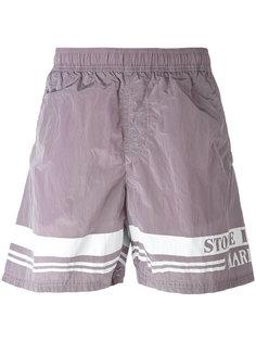 шорты для плавания с принтом логотипа Stone Island