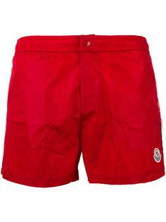 шорты для плавания с полосками сбоку Moncler