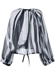 блузка в полоску  Ann Demeulemeester