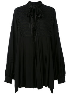 блузка свободного кроя с отделкой тесьмой Ermanno Scervino