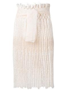 кружевная юбка с завышенной талией Ermanno Scervino