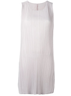 pleated shift dress Pleats Please By Issey Miyake