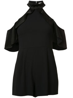 cut-out detail playsuit Alice+Olivia
