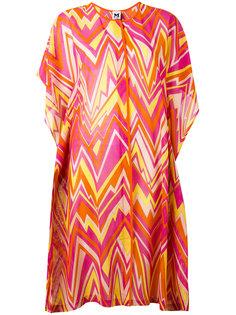 платье шифт с узором зигзаг M Missoni