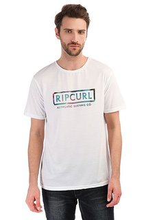 Футболка Rip Curl Authentic Surfing Optical White