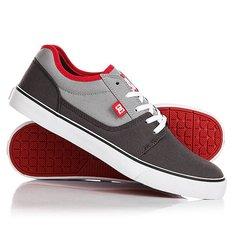 Кеды кроссовки низкие DC Tonik Tx Grey/Red